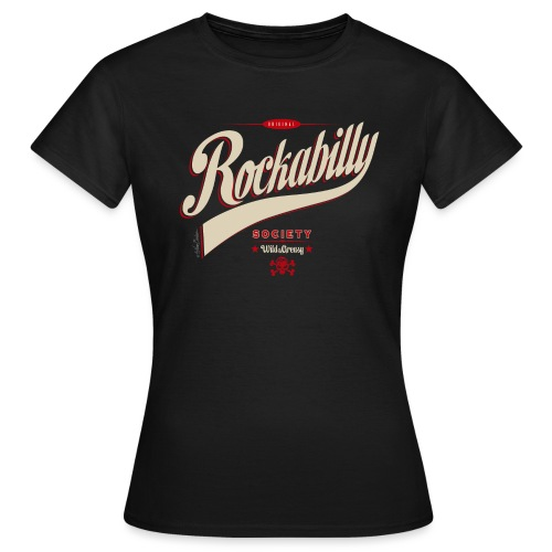 rockabilly letras 2014 - Camiseta mujer