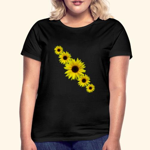 Sonnenblume, Sonnenblumen, Blumen - Frauen T-Shirt