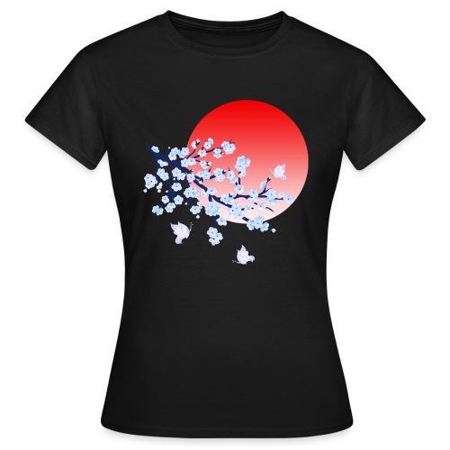 Cherry Blossom Festval Full Moon 4 - Frauen T-Shirt