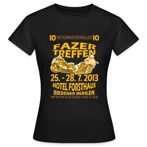 ift10logo gold korr - Frauen T-Shirt