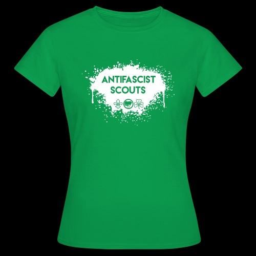 Antifascist Scouts - Women's T-Shirt