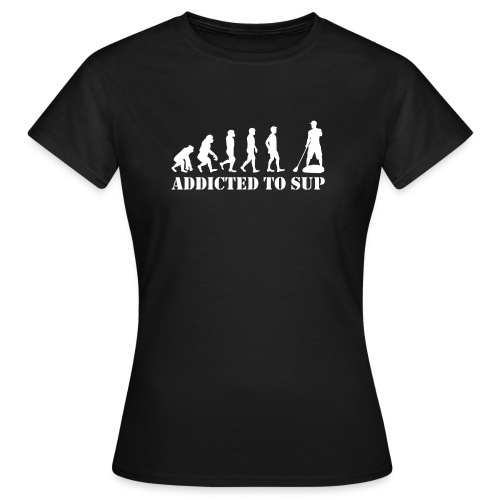 Evolution Addicted to SUP White - T-shirt Femme