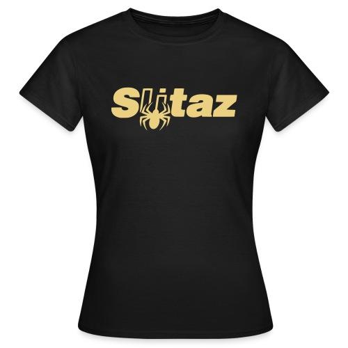 SliTaz Black Logo - Women's T-Shirt