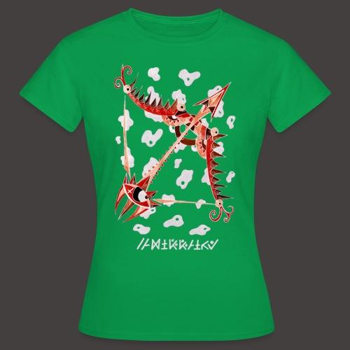 Sagittaire Négutif - T-shirt Femme