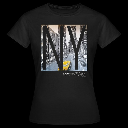 TIME SQUARE - Frauen T-Shirt