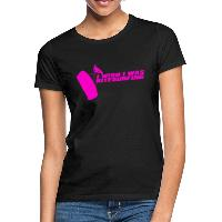 I Wish I Was Kitesurfing - Pink - Women's T-Shirt black