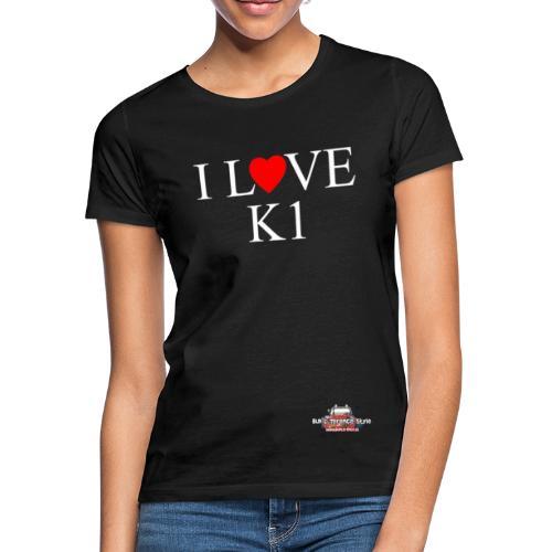 I- love K1 - Maglietta da donna