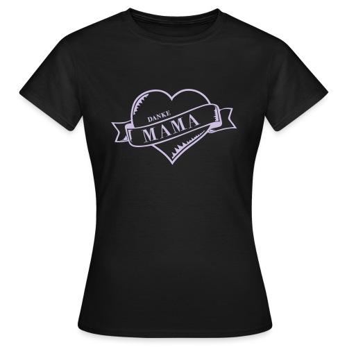 Mutterherz Beste Mama - Frauen T-Shirt
