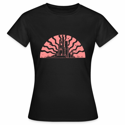 Fairytale Castle Sunrise - Frauen T-Shirt