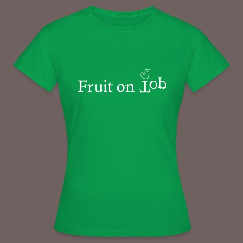 GBIGBO zjebeezjeboo - Fleur - Fruit [FlexPrint] - T-shirt Femme