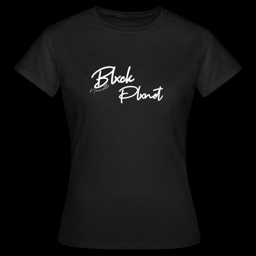 Blxck Plxnet - T-shirt Femme