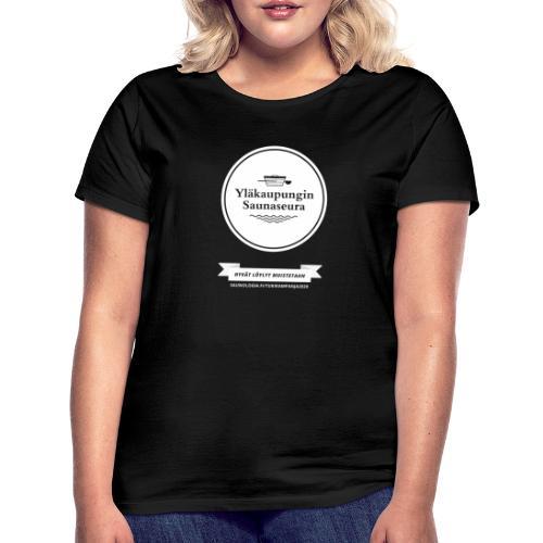Hakalan sauna, Yläkaupungin saunaseura - musta - Naisten t-paita