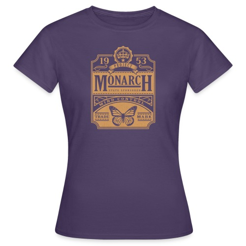 MONARCH VINTAGE GOLD - Women's T-Shirt