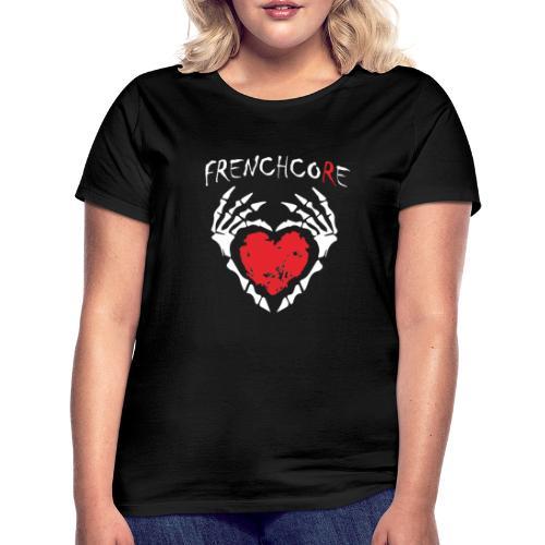 Frenchcore Heart - Frauen T-Shirt