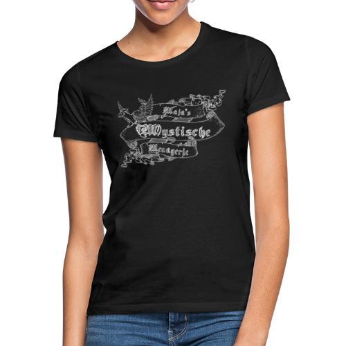 Schriftband Maja's Mystische Menagerie - Weiß - Frauen T-Shirt