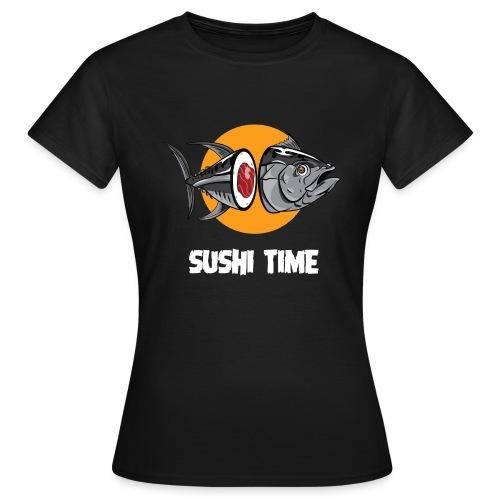 SUSHI TIME-tonno-b - Maglietta da donna
