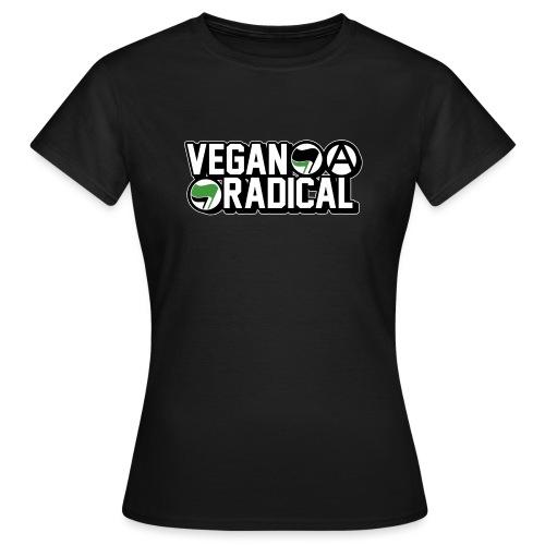 Vegan Radical - T-shirt Femme