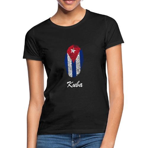 Kuba Fingerabdruck - Frauen T-Shirt