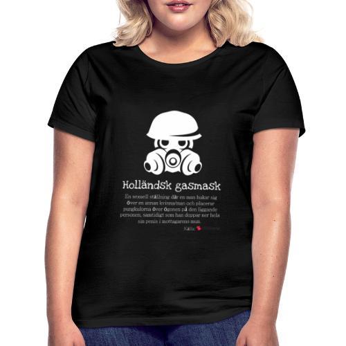 Holländsk gasmask - T-shirt dam