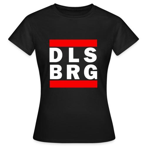 DLSBRG transparent weiss png - Frauen T-Shirt