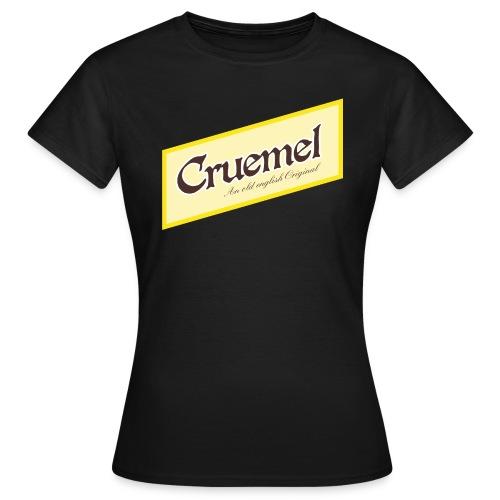 cruemel quer - Frauen T-Shirt