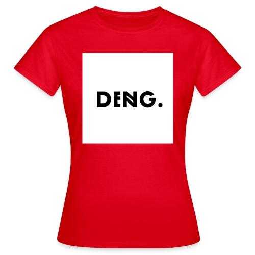 DENG-Druck Bold Trend (Init: Dennis Nguyen) - Frauen T-Shirt