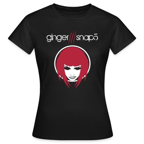 gs5_tshirt_name_face_blac - Women's T-Shirt