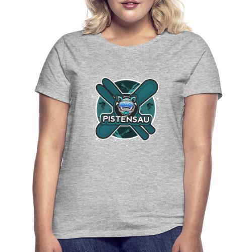 PistenSau Nervenkitzeljägergrün - Frauen T-Shirt