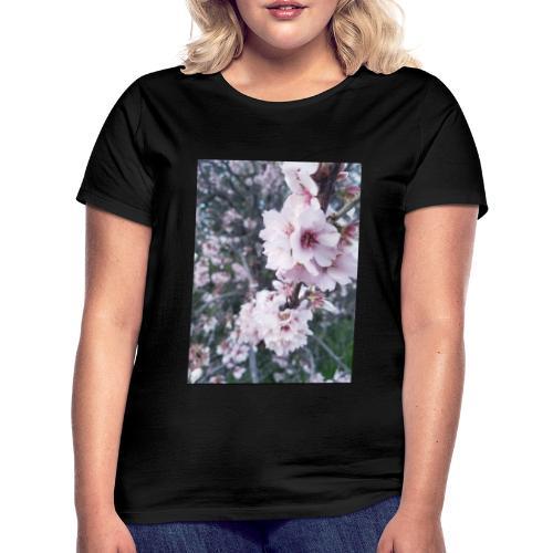Vetement avec image fleurs de sakura - T-shirt Femme