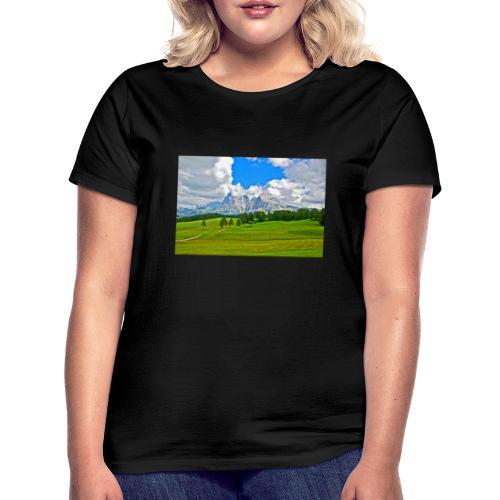 Seiser Alm - Frauen T-Shirt
