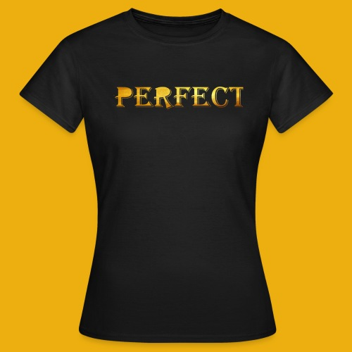 perfect metalic gold merch - Women's T-Shirt