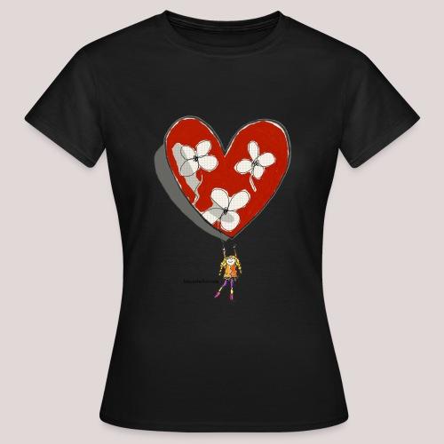 little girl with heart - Maglietta da donna