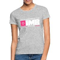 IMB Logo - Women's T-Shirt - heather grey
