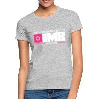 IMB Logo - Women's T-Shirt heather grey