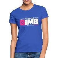 IMB Logo - Women's T-Shirt - royal blue