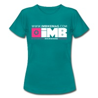 IMB Logo - Women's T-Shirt - diva blue