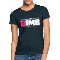 IMB Logo - Women's T-Shirt - navy