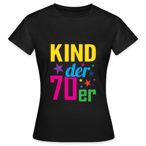 Kind der 70er - Frauen T-Shirt