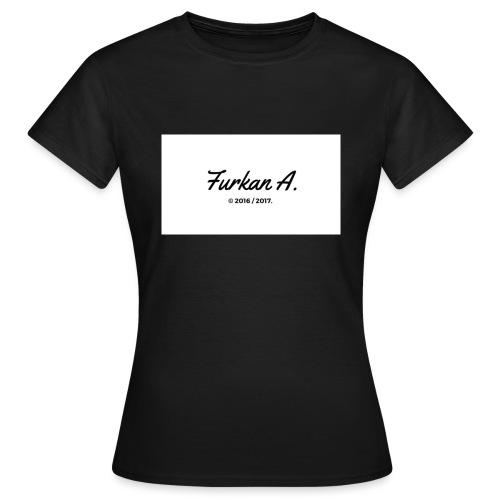 Furkan A - Zwarte sweater - Vrouwen T-shirt