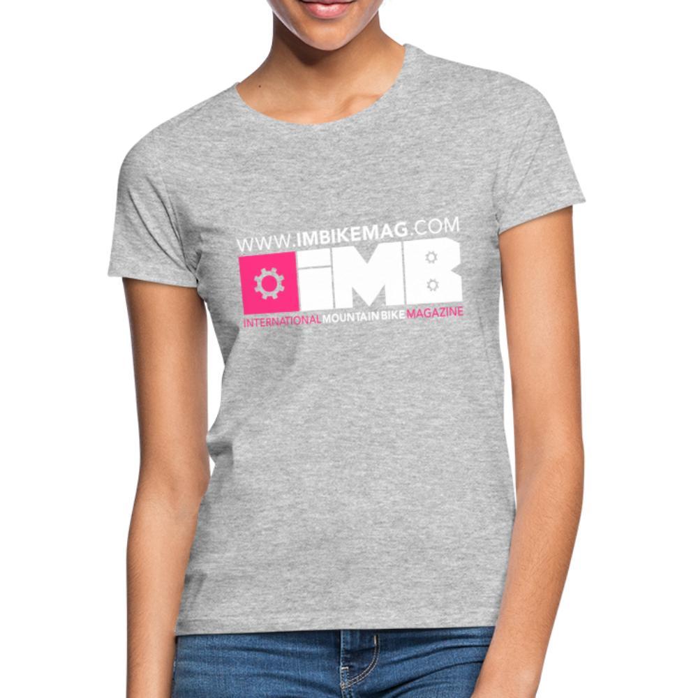 IMB Logo - Women's T-Shirt - heather grey