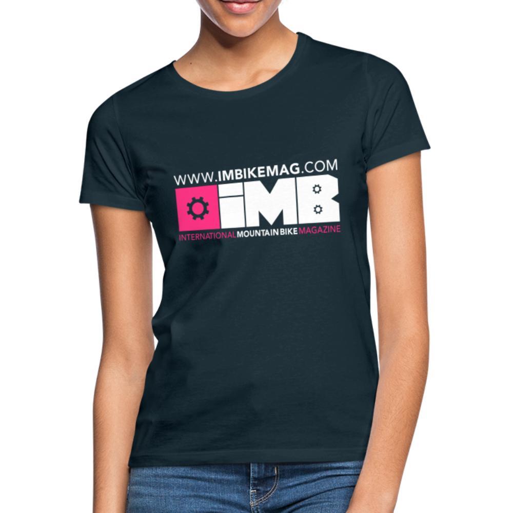IMB Logo - Women's T-Shirt - navy
