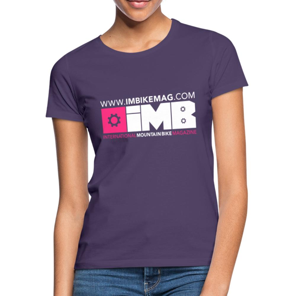 IMB Logo - Women's T-Shirt - dark purple