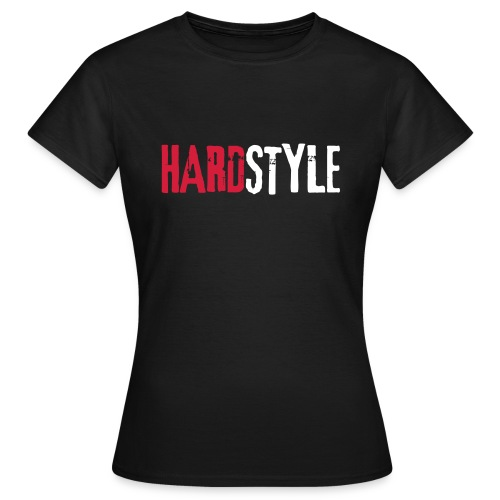 Hardstyle Schriftzug - Frauen T-Shirt