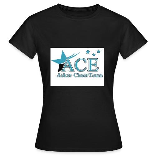 ace logoen bra kvalitet jpg - T-skjorte for kvinner