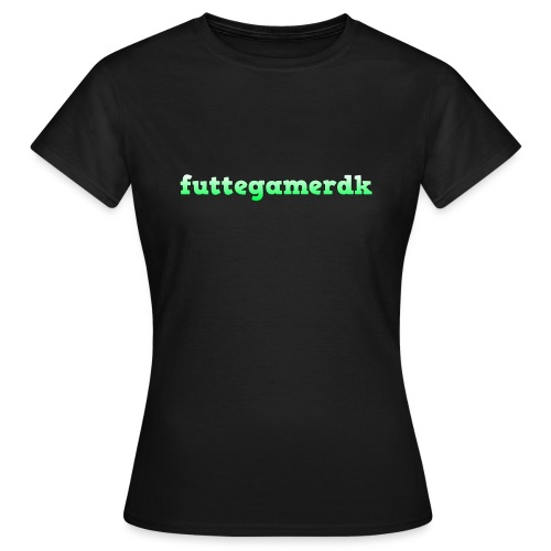 futtegamerdk trøjer badge og covers - Dame-T-shirt