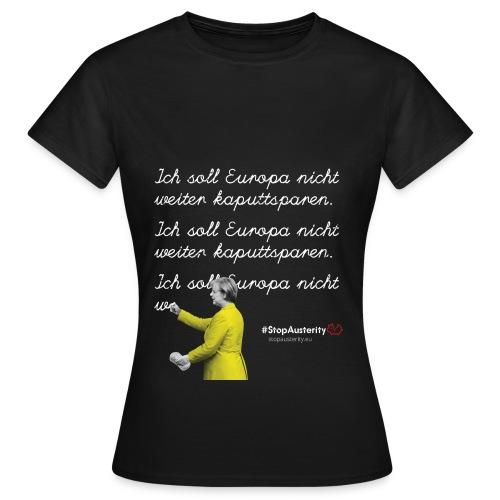 Merkel - Frauen T-Shirt