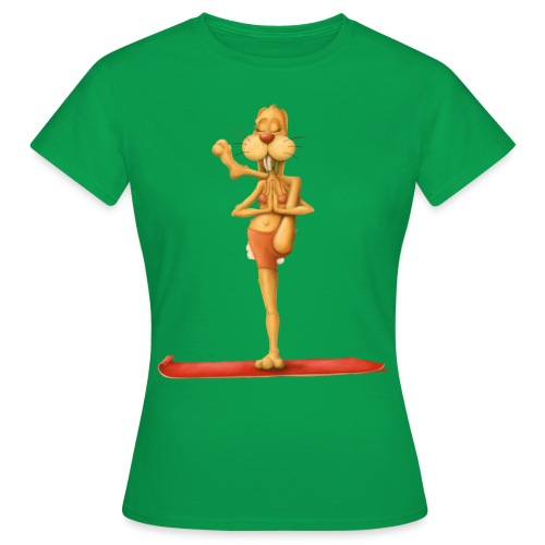 Yoga - Rabbit - Frauen T-Shirt