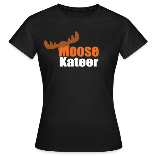 Moose-kateer (dark) - Women's T-Shirt