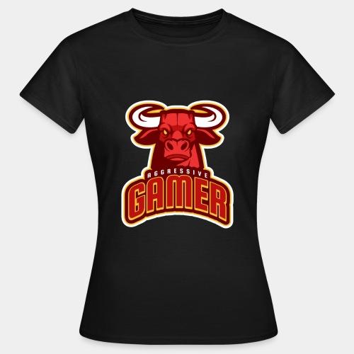 Aggressive Gamer - Women's T-Shirt