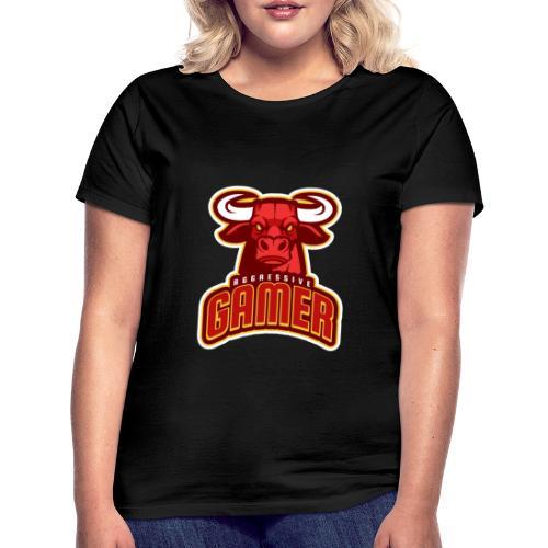Agressive Gamer - T-shirt Femme